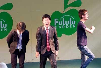 フルルガーデン八千代:第6回フルルお笑い勝ち抜きバトル!:ガリベンズさん勝利!