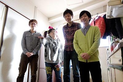 折り返し3メートルの福田長官さん・永山貴子さん、グアムズの清水シュンさん・ピヨシさん