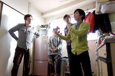 折り返し3メートルの福田さん・永山さん、グアムズの清水さん・ピヨシさん