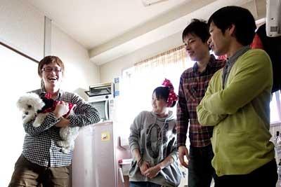 ミラノちゃん、折り返し3メートルの福田さん・永山さん、グアムズの清水さん・ピヨシさん
