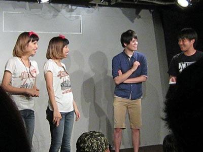 中MC:カンフーガール&ゲストMC☆まかりな☆