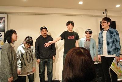セクシーバニーさん、永山貴子さん、甲賀大介さん、グアムズ(清水シュンさん・ピヨシさん)、水町タカオさん