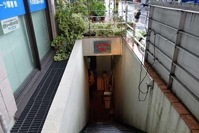 なかのtwl入り口階段